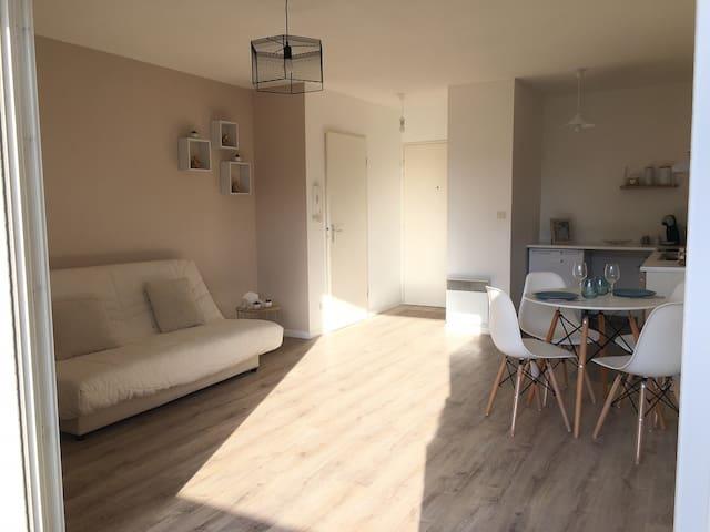 Appartement très lumineux et très agréable ❣️