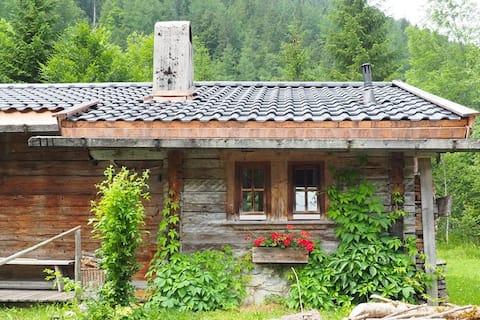 Urige Hütte in der Hinterriss