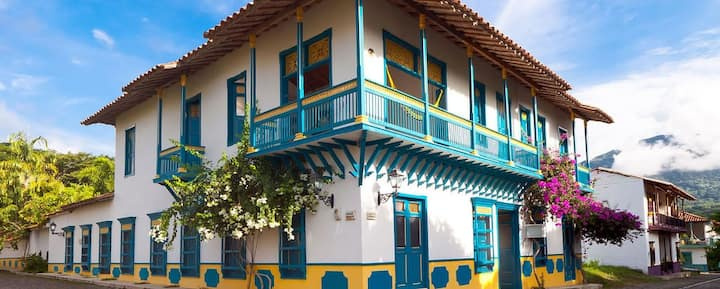 Hotel de Cauca Viejo - Jericó