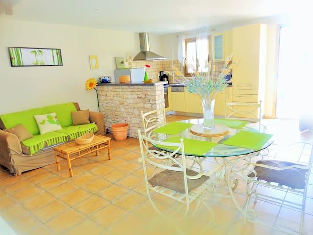 Maison de 55 m² à 50 mètres de la mer - Farinole - Apartmen