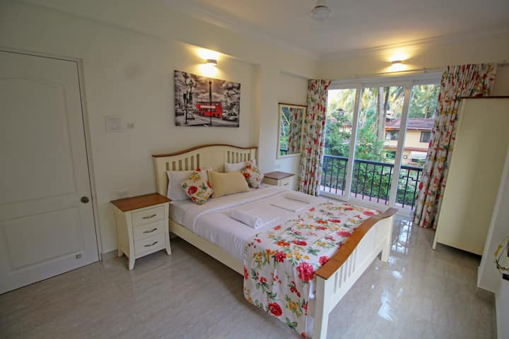 Tastefully Designed 1BHK Apartment in Calangute