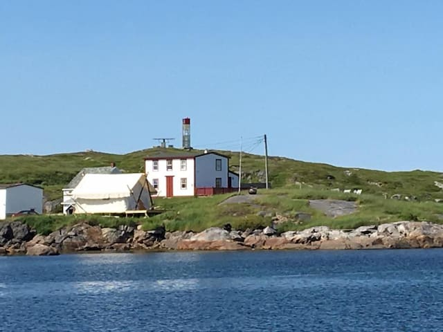 Experience Glamping in Tilting on Fogo Island!