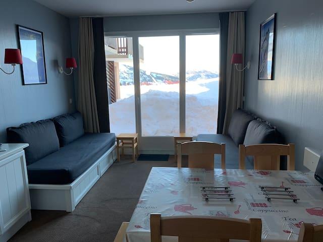 Appartement 33 m2 Valmeinier pour 5/6 personnes