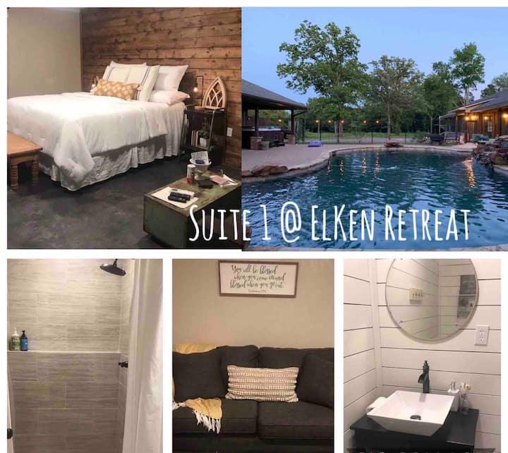 ElKen Retreat B&BPrivate Suite1 $Massage Breakfast