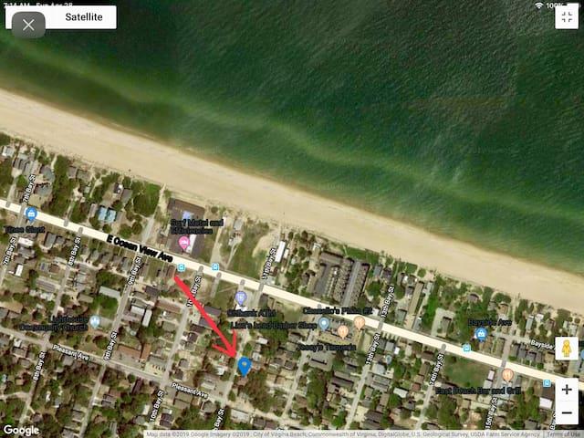 NEW💕 Beach Duplex ,Walk 3 Minute To Oceans,Sleep9
