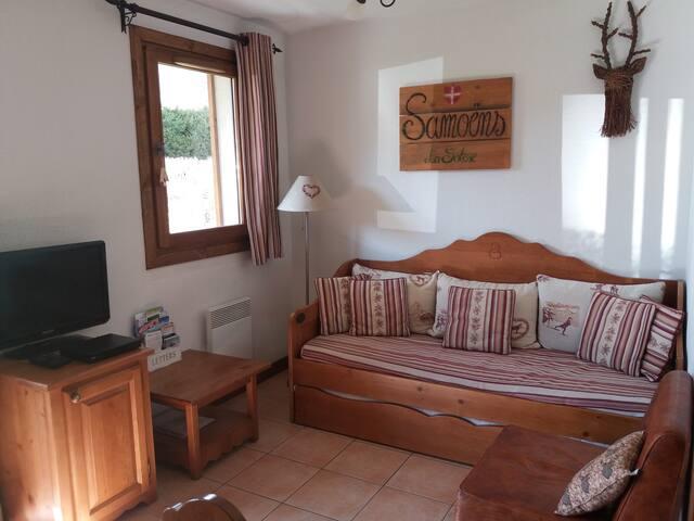 Colette's Ground floor apartment Samoëns