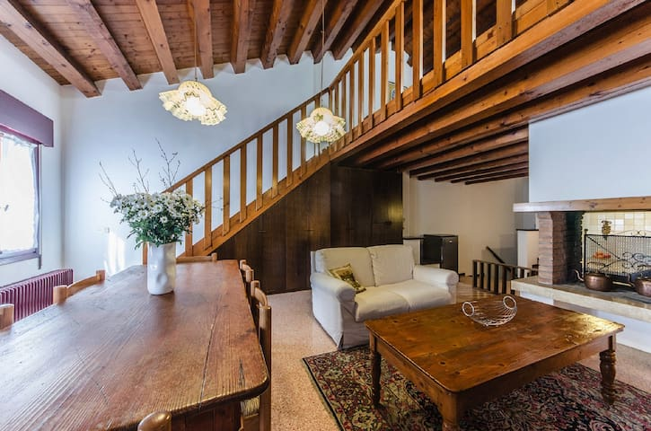 Novalesi House (25 minutes to Venice) - Noale - Huis