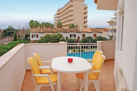 Apartamento con vistas al mar piscina  y montaña - Sa Coma - Pis
