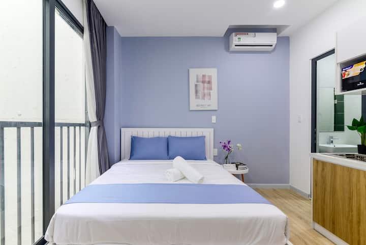 Cozrum Homes - Cozy Couple Suite @Balcony view