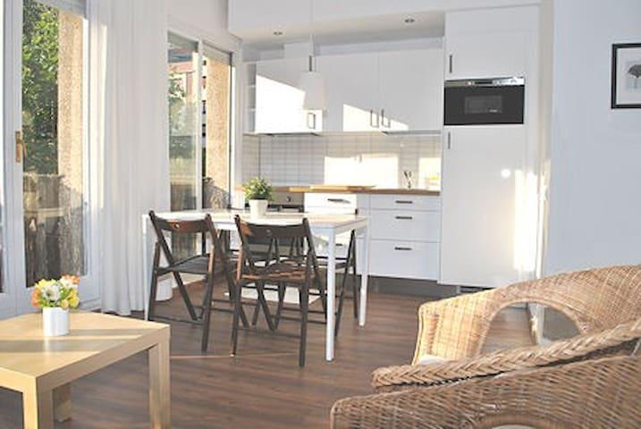 Loft ideal, luminoso, equipado, recién remodelado.