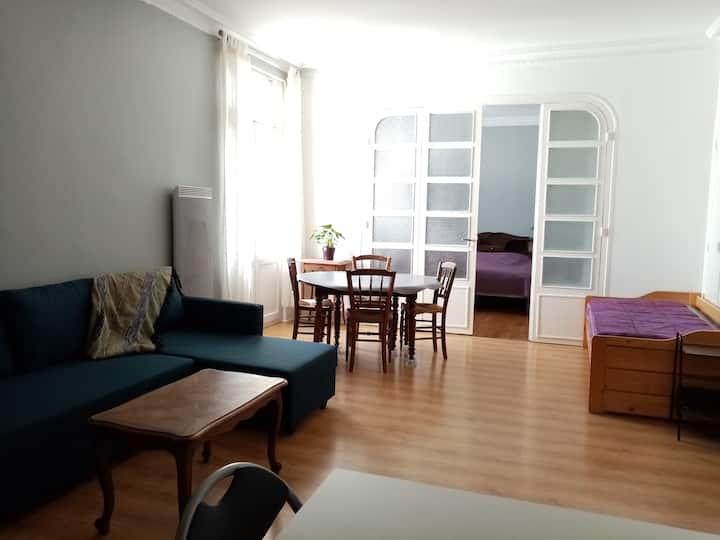 Appartement lumineux à deux pas des thermes
