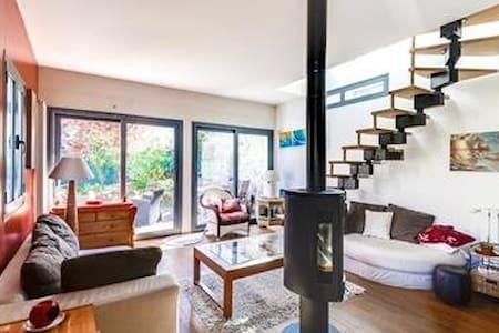 Très agréable maison, centre. Paris 20mn - Villennes-sur-Seine - Ház