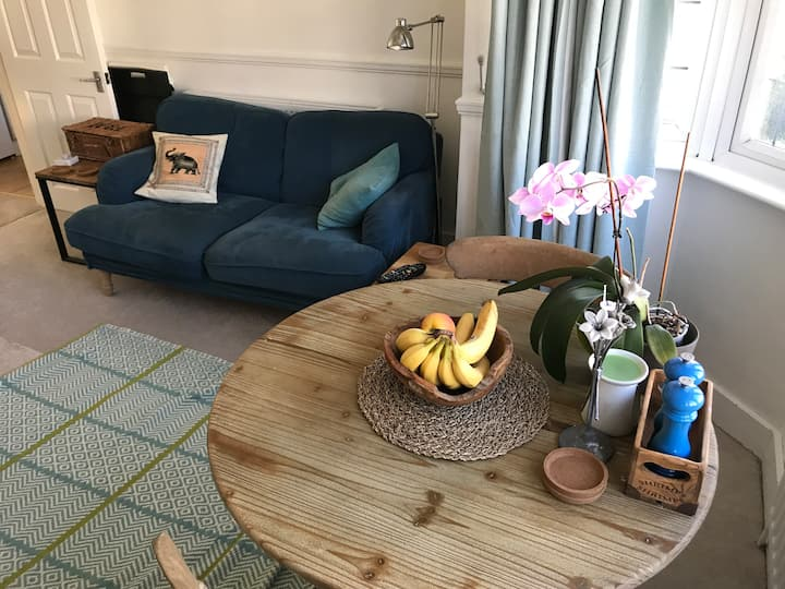 Bright, comfortable flat in North West London