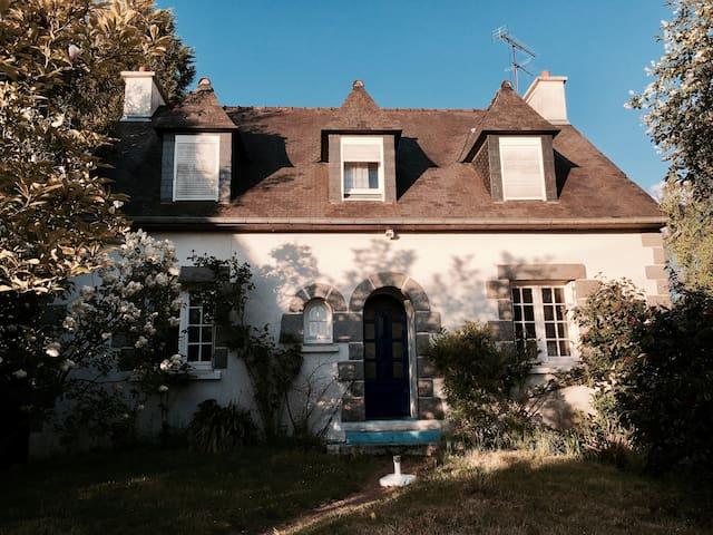 Maison bretonne avec grand jardin - Plouha - Hus
