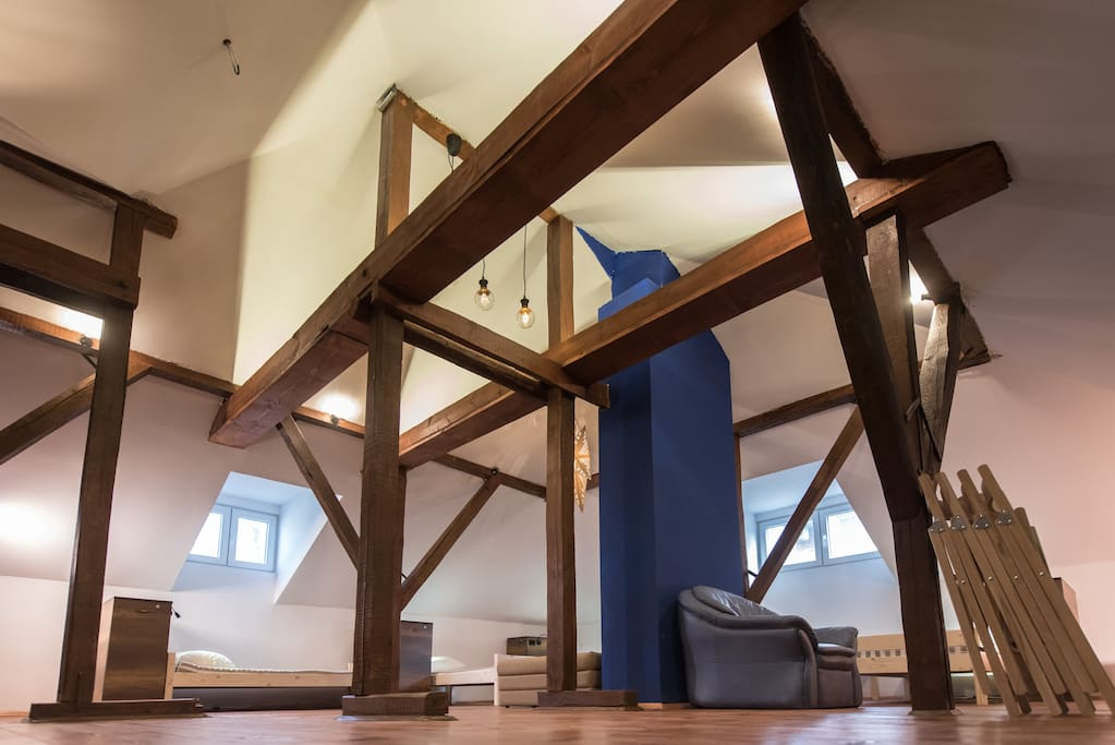 "BestRest guesthouse ""8 bed attic"""