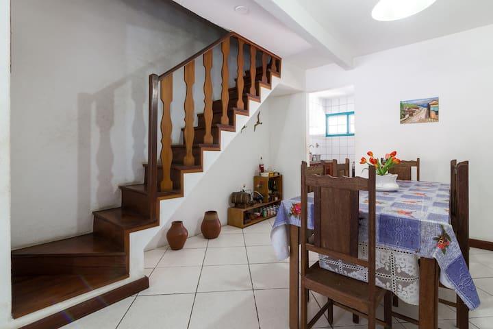 Casa 3 quartos+wifi+OiTV+quintal com churrasqueira - Paraty - Wohnung