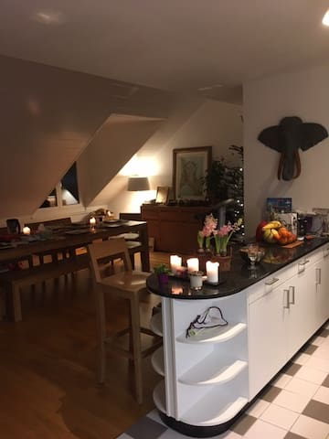 Huge room with beds for kids PARKING FREE - Saint-Sulpice - Apartamento
