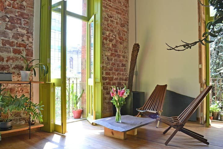 Beautiful and charming loft in restored building - Ciudad de México
