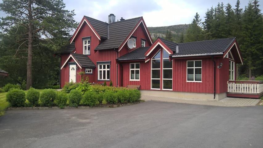 Great house outside Mosjøen