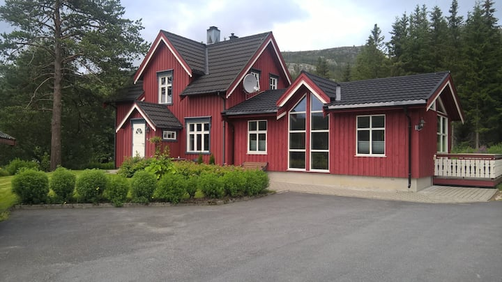 Great house outside Mosjøen