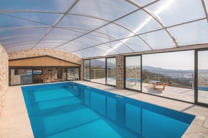 Villa Eol & Her Own Private Exclusive Indoor Pool