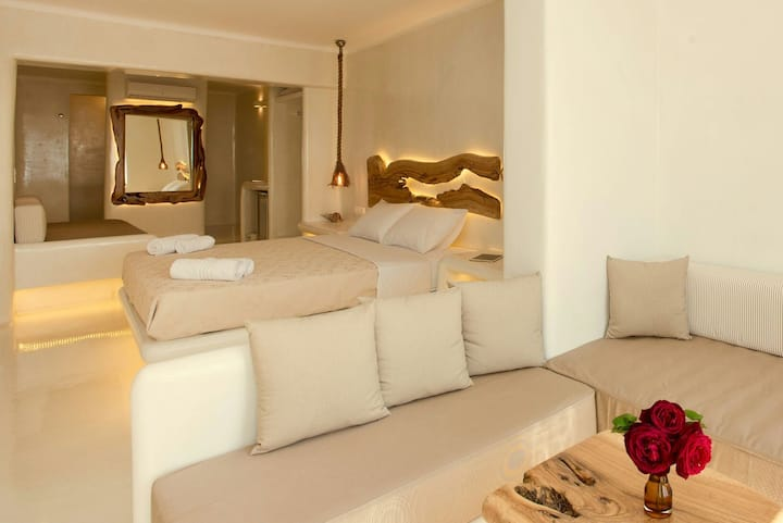 VILLA ELINA suite  for 4 people 1 kLMfrom the port