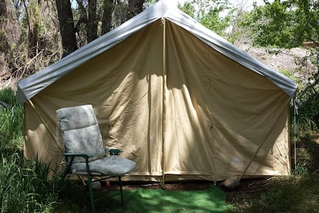 Tent with queen bed and twin bed - 薩利達(Salida) - 帳篷