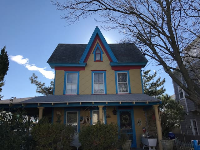 Historic North Wildwood Home With Great Location - North Wildwood - Casa