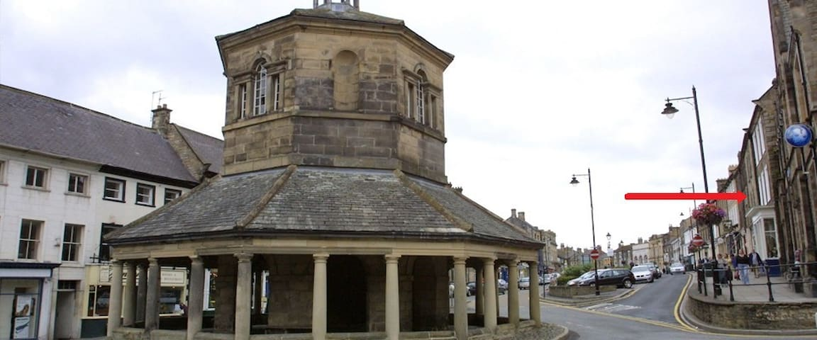 Market Place Flats 5a - Barnard Castle - Apartment