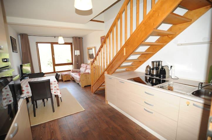 Charmant duplex 6 8 pers xonrupt avec 2 chambres for Chambre xonrupt
