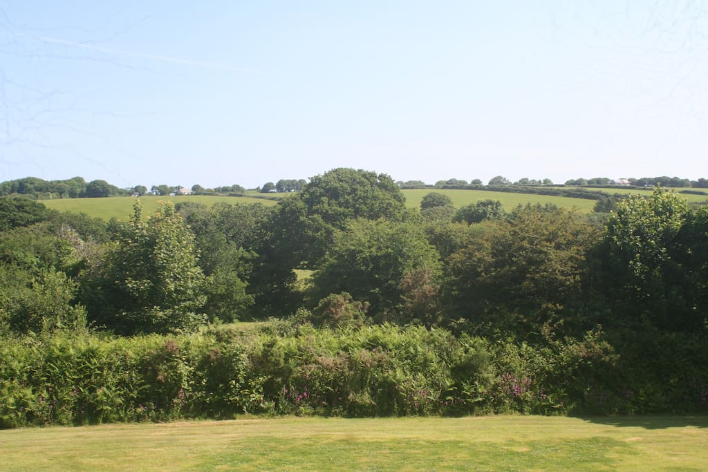 The Hayloft - the view!