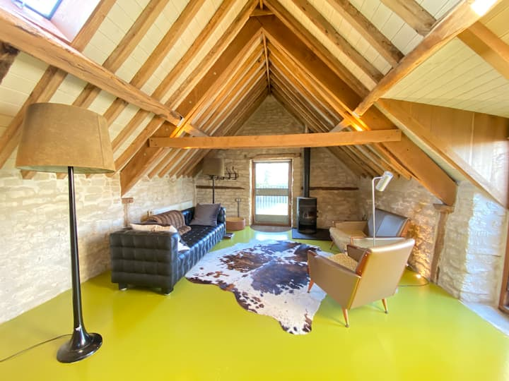 The Hayloft is a perfectly idyllic retreat