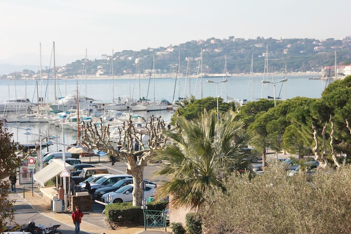 At the heart of Sainte Maxime