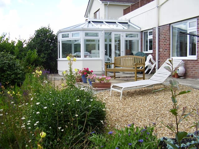 Garden Apartment: Tregony, Roseland, Cornwall - Tregony - Appartement