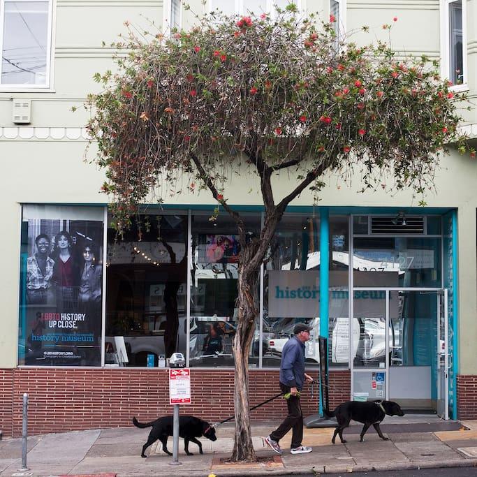 Kuva paikasta GLBT Historical Society Museum naapurustossa The Castro