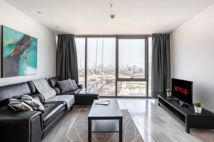 ★ Comfy Studio in D1 Tower with Views of the Creek