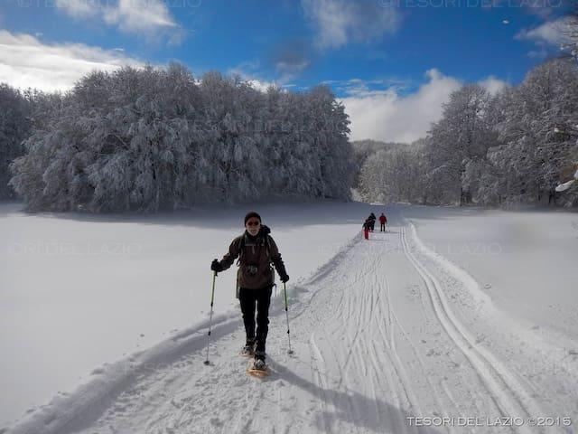 Sci di fondo nel parco