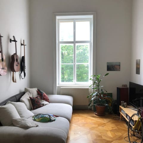 astonishing room right by the city hall