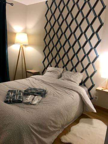 Chambre cosy à 4min de la Gare de Melun.