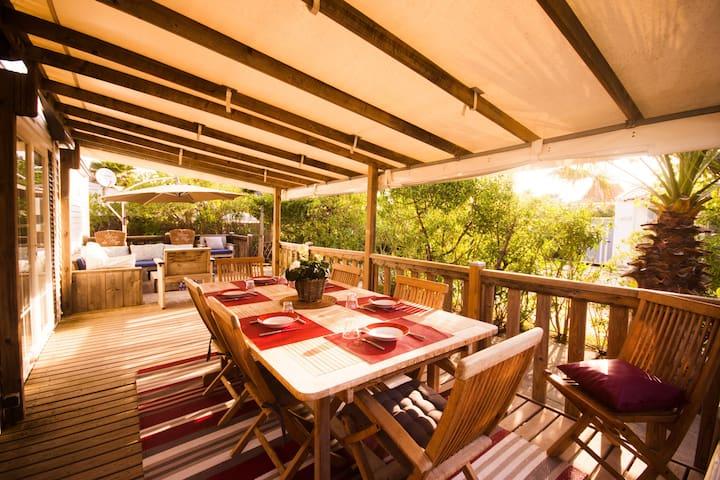 Joli et spacieux bungalow à Pampelonne