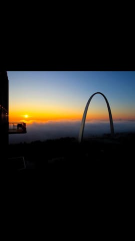 5** Luxury APT- Breathtaking River/City/Arch Views - St. Louis - Apartament