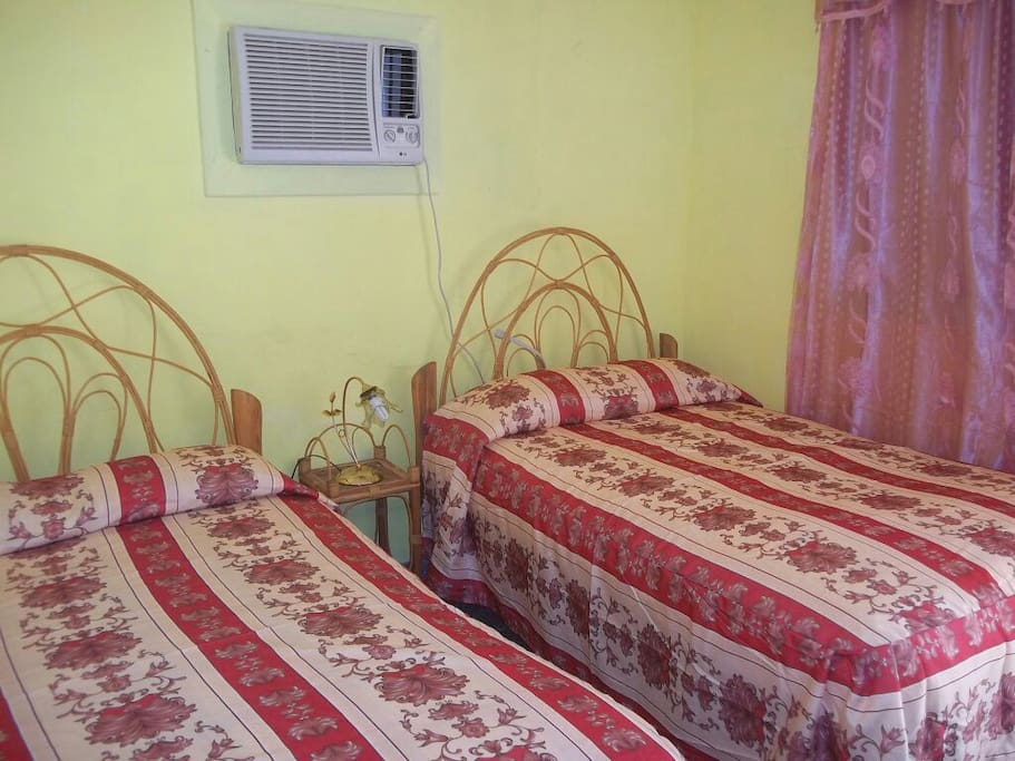 Room 2 with direct entry to the garden and seperate bathroom