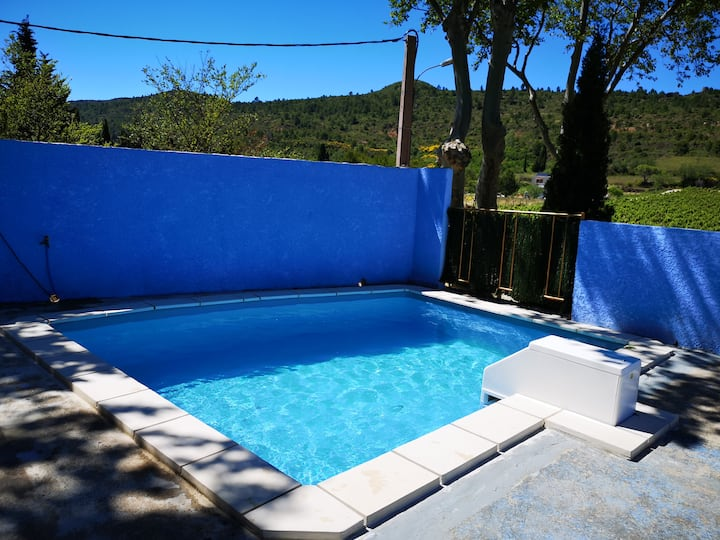 Maison Vallée-du-paradis avec piscine privée