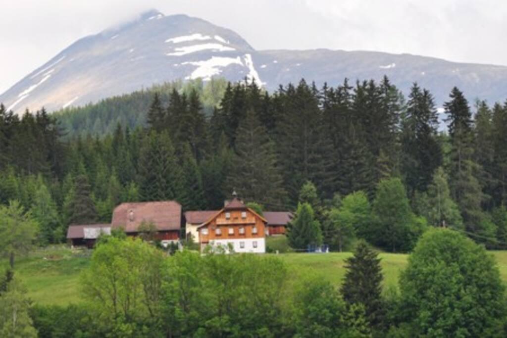 wohnen am bauernhof im salzburger lungau flats for rent in sauerfeld salzburg austria. Black Bedroom Furniture Sets. Home Design Ideas