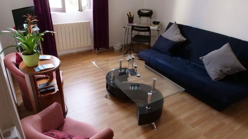 Bel appartement 1-4 personnes, 27m², tout équipé !