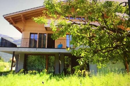 Ferienwohnung Chalet Park Diemtigen 5+ Sauna Hamam