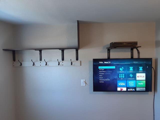 Living room roku TV