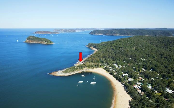 Seabreeze, a unique waterfront/beachside property