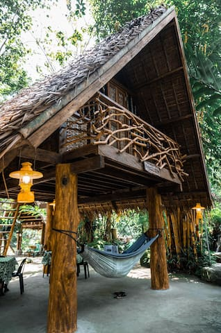 Hammock Hut MNG for 4 Persons at Forest Camp