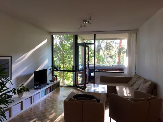 60m2 bright, cozy flat 25 min from Helsinki center